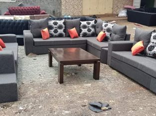 6 Seater LShaped Sofa