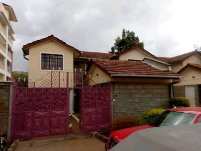 3 Bedroom Maisonette In Syokimau
