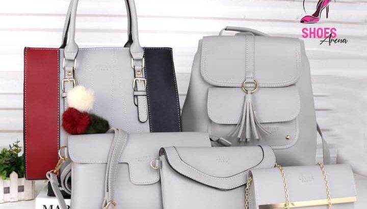 5 in 1 Leather Handbags